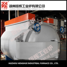 automatic nitrogen protection 150KW vacuum annealing furnace with Stainless steel guide system