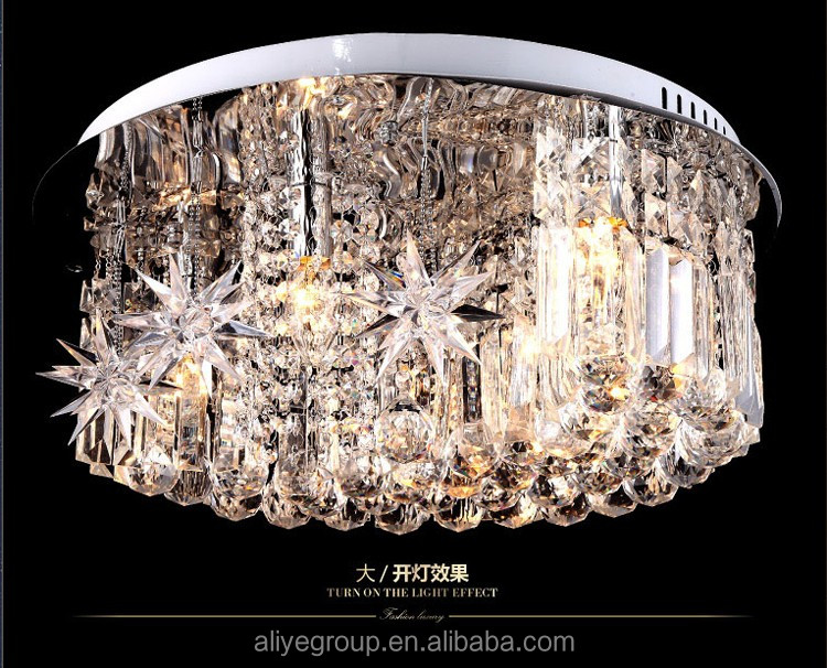 Led Ceiling Lights Made In China : L led ceiling light modern fancy crystal