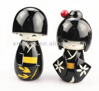 new design japanese geisha dolls Fashion Japanese wood doll