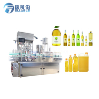 Automatic vegetable oil / cooking oil / olive oil filling machine for PET bottles