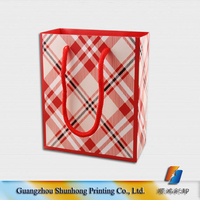 Different types design custom Luxury shopping paper bag, paper shopping bag printing
