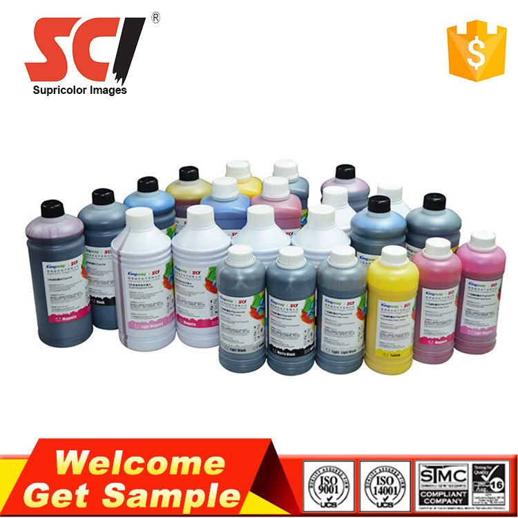 Used for epson dx5 dx7 printer 5 color uv curable ink
