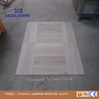 Yasta Antique gray wooden vein marble tile for floor and wall