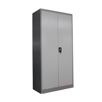 black garage Steel Storage Cabinets / office cheap metal filing cabinet cupboard
