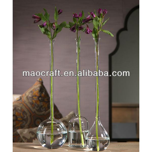 Tall Neck Glass Bud Vase Buy Glass Flower Bud Vaseglass Bud Vase