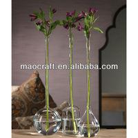 tall neck glass bud vase