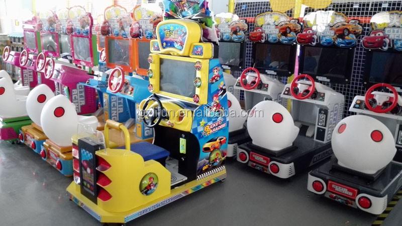 Exciting Arcade Car Racing Game Machine/simulator Racing Car 2 ...