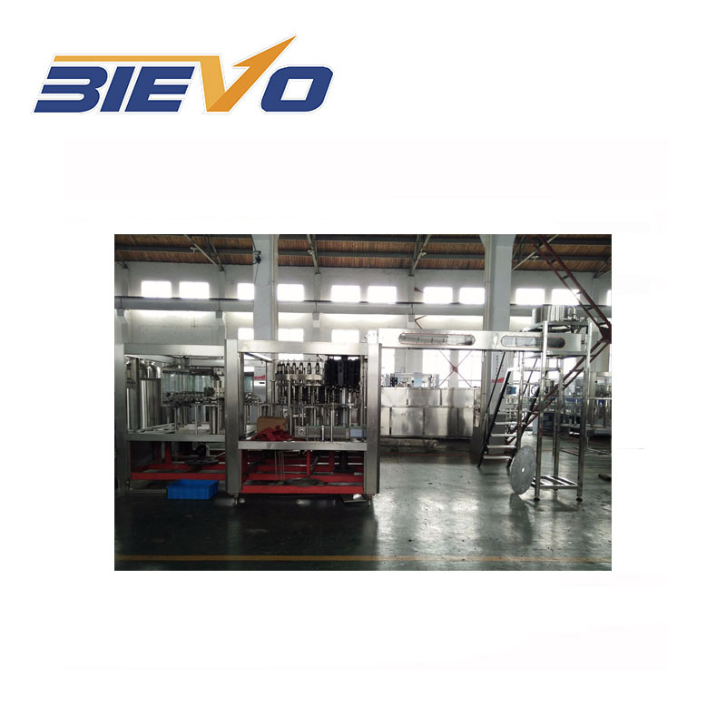 basil seed drink production machines at company / beverage equipment for the small business