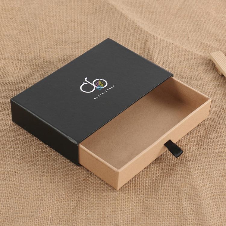 carton tiroir coulissant cadeau arc cravate kraft bo te d 39 emballage de papier buy papier. Black Bedroom Furniture Sets. Home Design Ideas