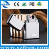 FREN 10 Colors hot design zinc alloy plasma X lighter, electronic cigarette lighter can print logo