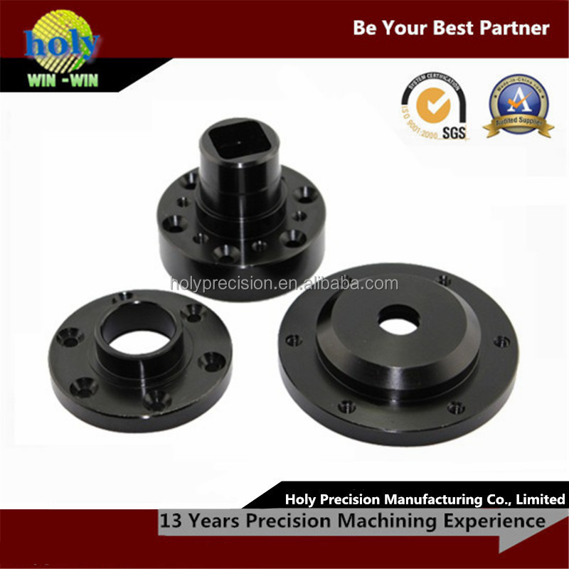 black anodizing aluminum cnc machining optical instrument parts