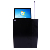15.6 inch bureau gemotoriseerde lcd monitor lift mechanisme met Microfoon voor Digitale Audio Conference Systeem