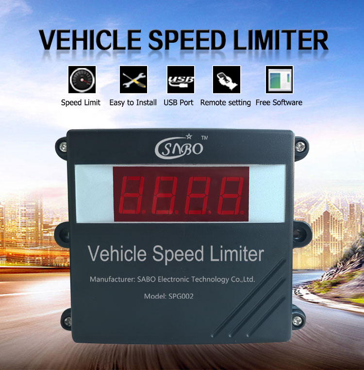 Vehicle speed limiter for Canada Market