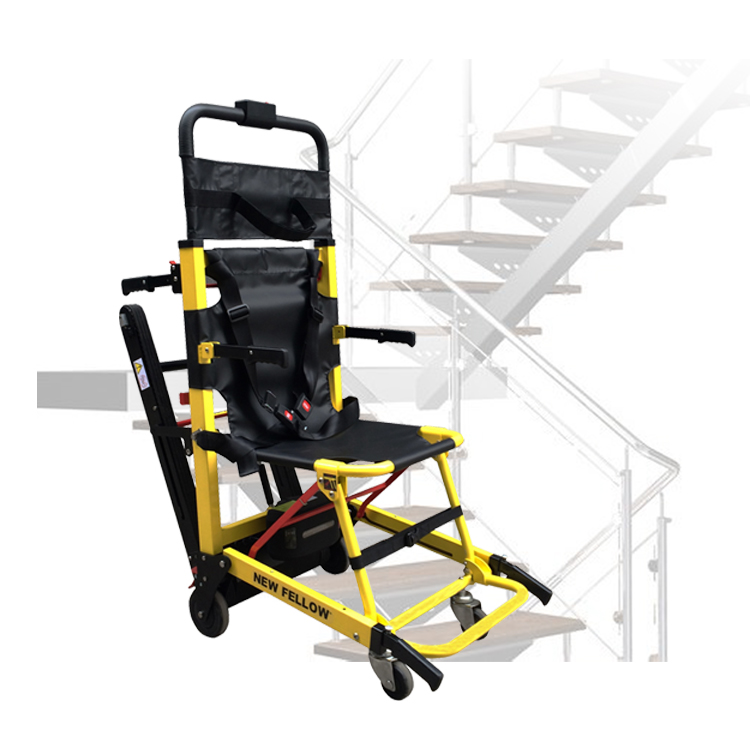 Electric galileo stair climbing wheelchair with battery