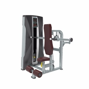 body building equipment seated triceps extension gym equipment adjustable cable machine