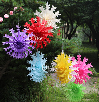 Paper Mache Flower Pots Planters Decoration Fan Tissue Fan Flowers