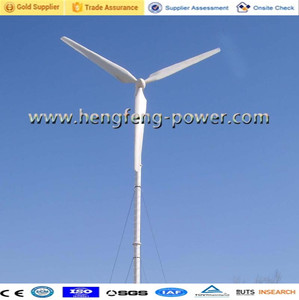 sell manufacturer 50KW horizontal axis windmill power turbine generator system (CE/ ISO certifications)with free stand tower