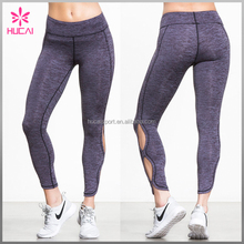 2016 wholesale custom supplex printed fancy workout yoga legging for women