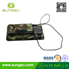 Foldable solar panel hand bag made in China solar camp shower bag with custom watt portable cell phone solar panel carry bag