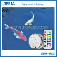 JEJA Everlasting Battery Operated and remote controlled submersible LED Lights
