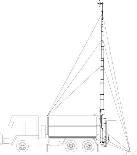 15m Telecommunication Tower,15m Communication Tower,15m Solar ...
