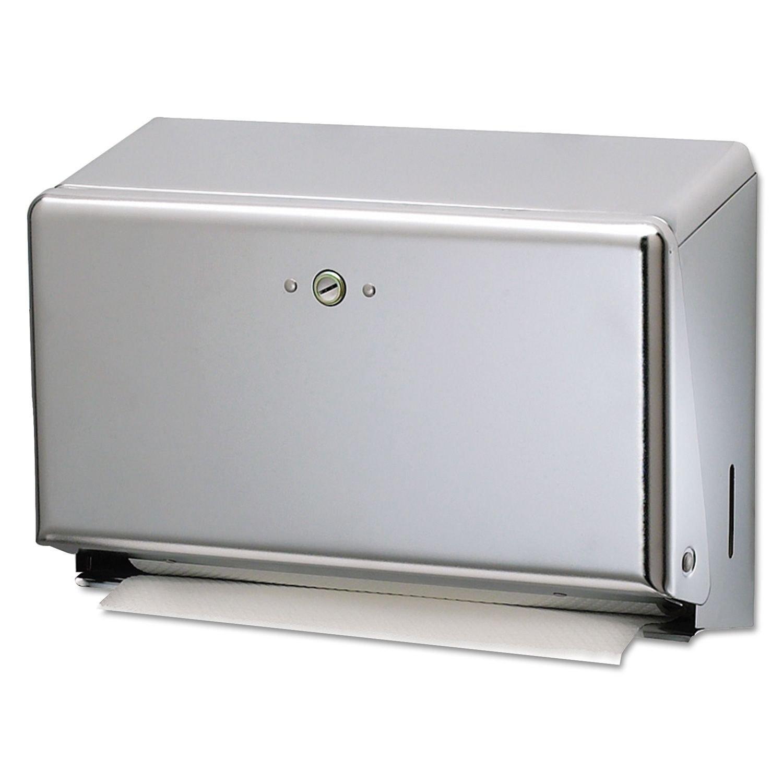 San Jamar Mini C-Fold & Multifold Paper Towel Dispenser