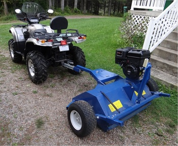 CE ATV Flail Mower, Tow Behind Flail Mower