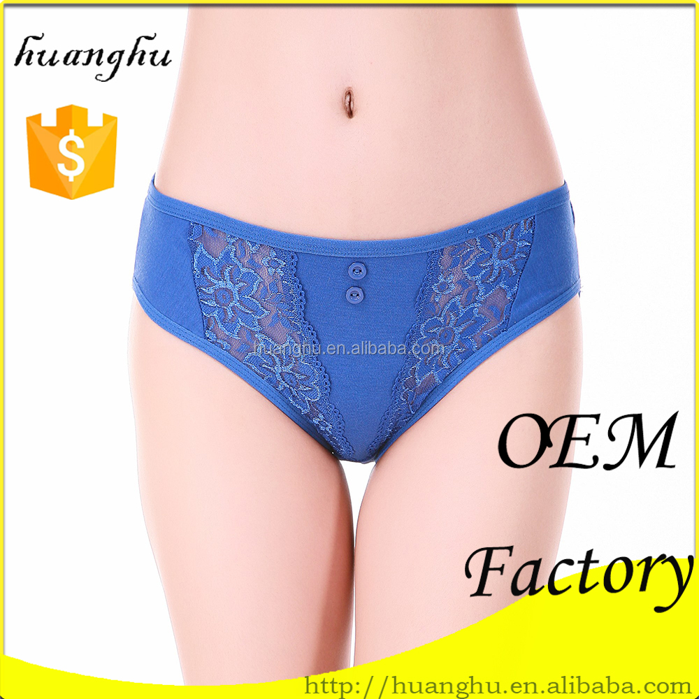 77079b7bfb 2015 new brief comfortable 65% cotton 35% polyester transparent women  underwear