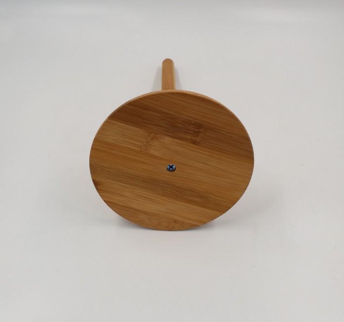 Retail kitchen bamboo tissue paper roll holder 6