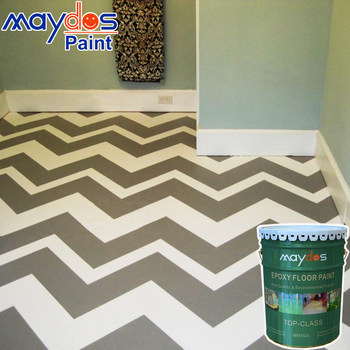 Maydos Low Voc Epoxy Floor Paint For Concrete Decoration