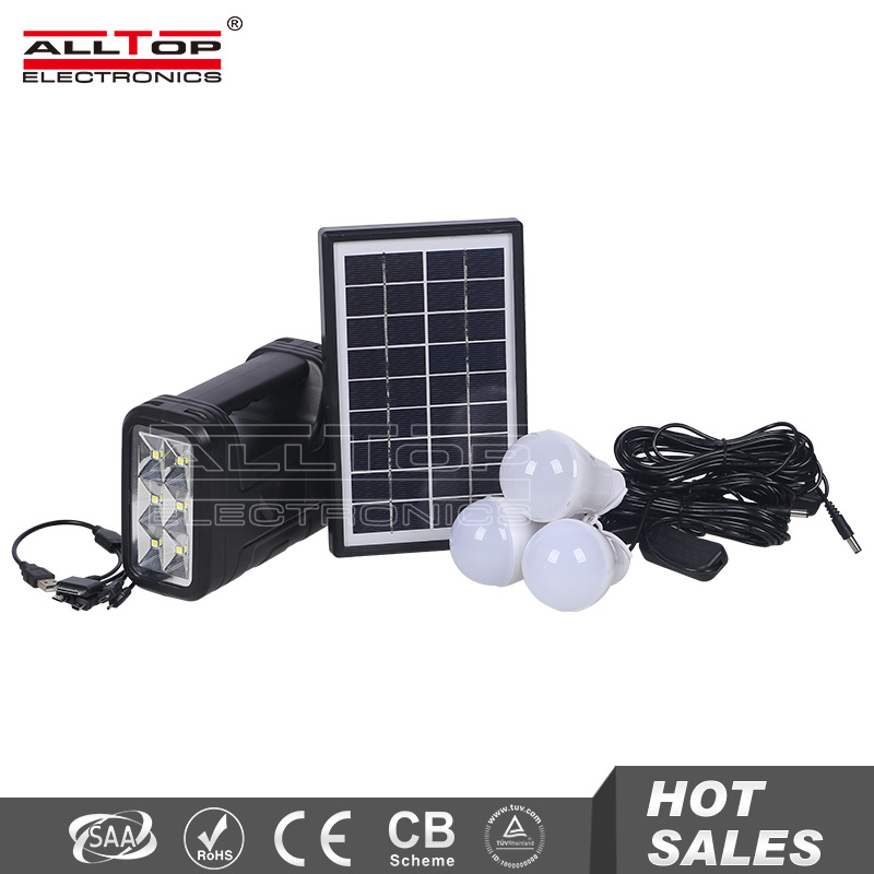 Newest design low price solar home green lighting system for indoor or outdoor lighting