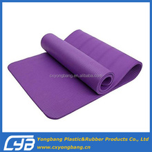 Eco friendly 12mm Thick NBR Yoga Mat