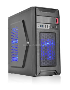 Computer Case, Combo 5 in1,Combo PC Case,Desktop Gaming Case,LED light Gaming Case