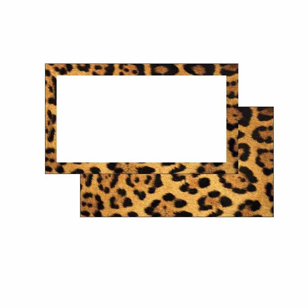 Get Quotations Leopard Print Place Cards
