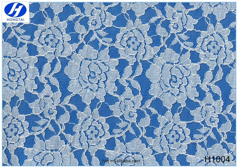 2016 new arrival hongtai cotton lace fabric for dress