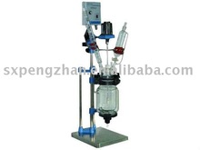 2016 High quality Small Volume Jacketed lab glass reactor