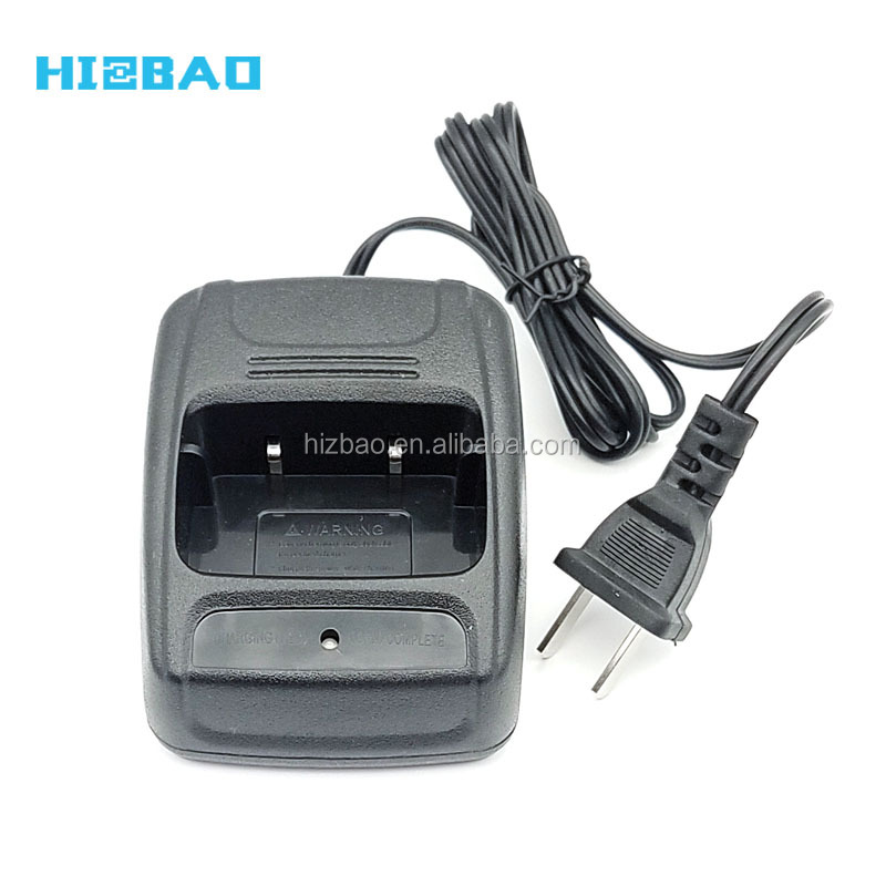 110V-240V Two Way Radio Li-ion Battery Charger For Baofeng 888S 666S 777S T6 Walkie Talkie