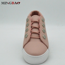 New Model Stylish Light PU ladies shoes bangkok