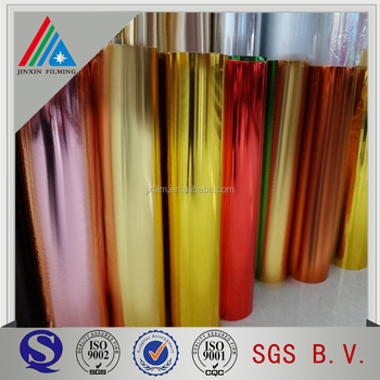 Colored Metalized Polyester Film Colored Mylar Sheets - Buy Colored ...