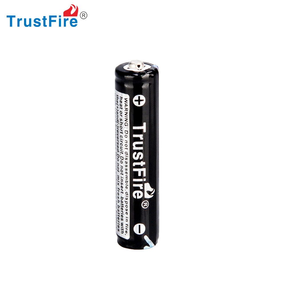 super power battery TrustFire high quality lithium ion battery 10440 rechargeable li ion battery for flash light/Kids toys