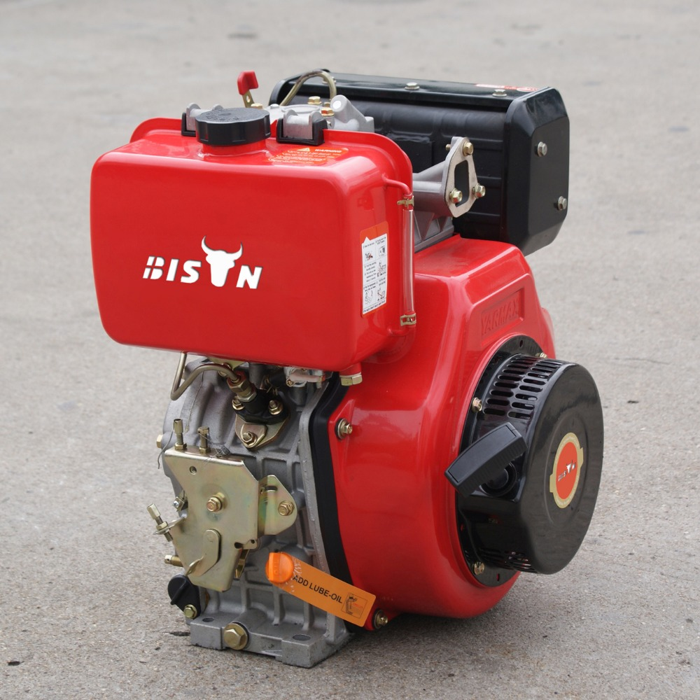 Bison ( chine ) 6.5 hp air refroidi moteur diesel portable pour un usage domestique made in CHINA