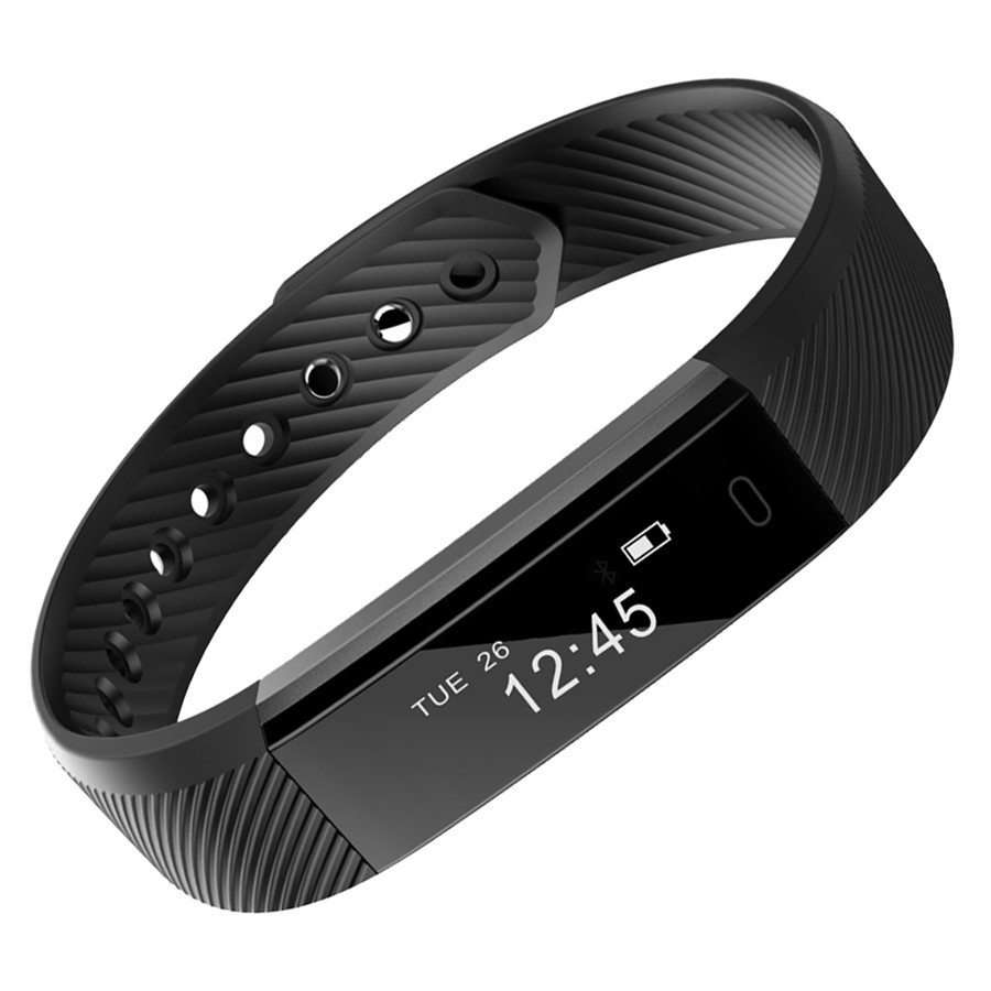 Fashion new bracelet watch Smart ID115 waterproof wristband sports pedometer mini fitness tracker