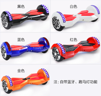 High quality factory price smart balance 2wheel electric scooter self balance skateboard hoverboard 8inch