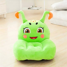 Safety 55 CM Custom Cartoon Chair Cute Soft Plush Child Sofa