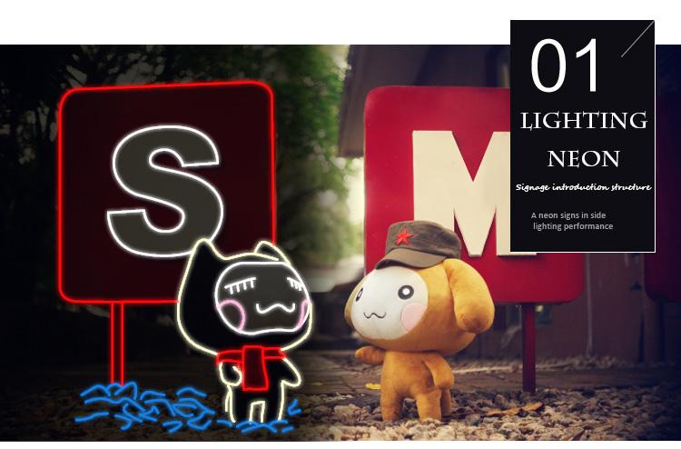 2018 12V LED Neon Sign Neon Billboards für den Ersatz von Glas Neon