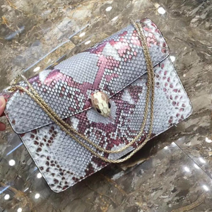 135a8ce41f9 2019 hot sale top fashion real python skin leather branded women handbag  famous BV branded design