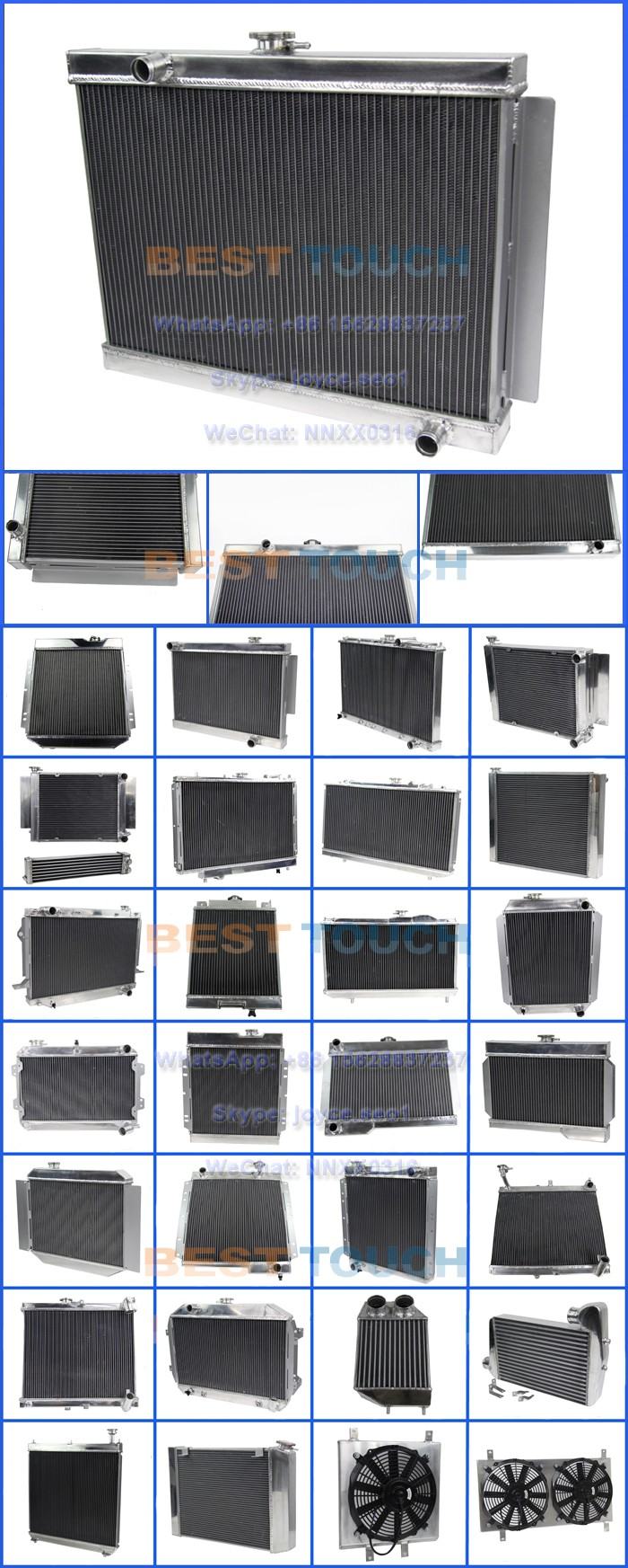 MINI Cooper S R53 2002-2006 aluminum car radiators for BMW