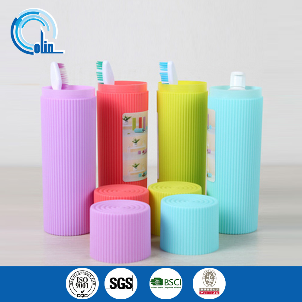 Travel toothbrush box of portable multifunctional toothbrush brushing gargle cup bulk toothpaste box Wash Cup