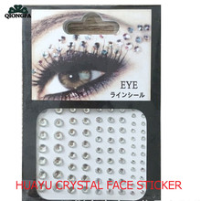 1X Twinkle Crystal Temporary Tattoos Sticker Halloween Xmas Face Body Makeup DIY