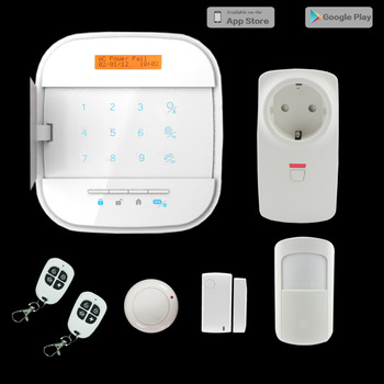 Wifi Internet App Remote Control Gsm Wireless Home Security Alarm System  Safety With Smart Plug Kit - Buy Safety Devices In Home,Smart Plug  Kit,Safety